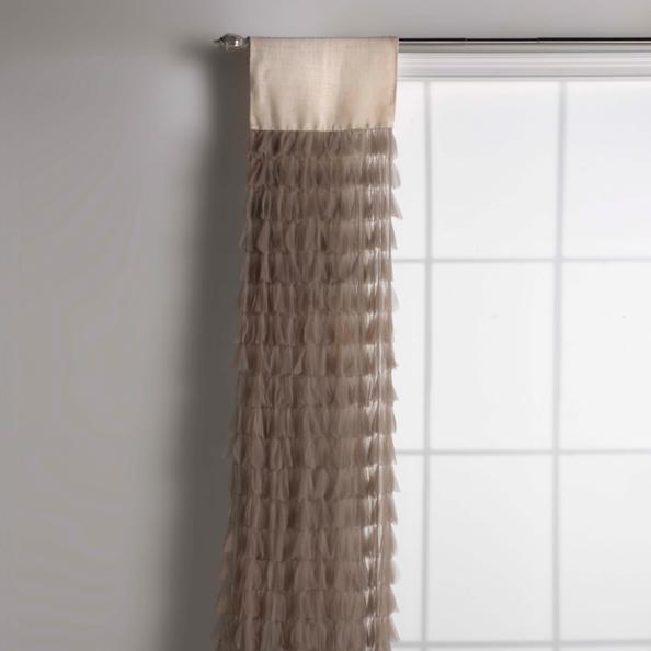 Chichi Petal Curtain With Jute Header