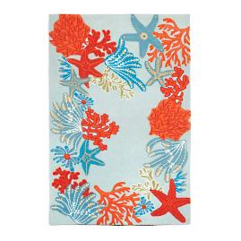 Under the Sea Outdoor Rug