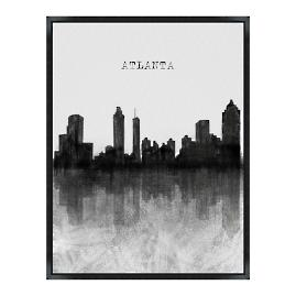 Skyline Wall Art - Atlanta