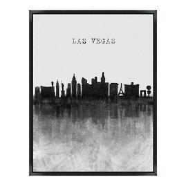 Skyline Wall Art - Las Vegas