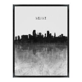 Skyline Wall Art - Miami