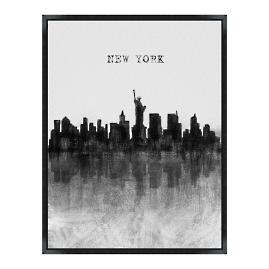 Skyline Wall Art - New York