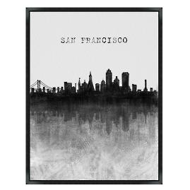 Skyline Wall Art - San Francisco