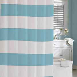 Hampton Stripe Shower Curtain |