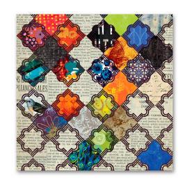 Moroccan Tiles Wall Art | I |