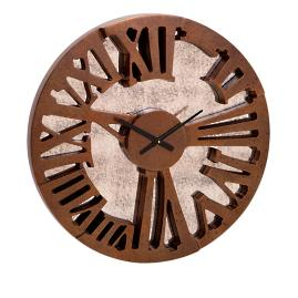 Antique Wall Mirror Clock |