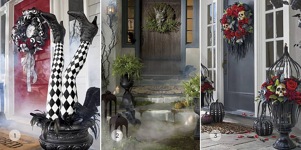 still up to the same old tricks when it comes to welcoming halloween guests to your house of thrills well sit for a spell with a wave of our magic wand - Grandin Road Halloween