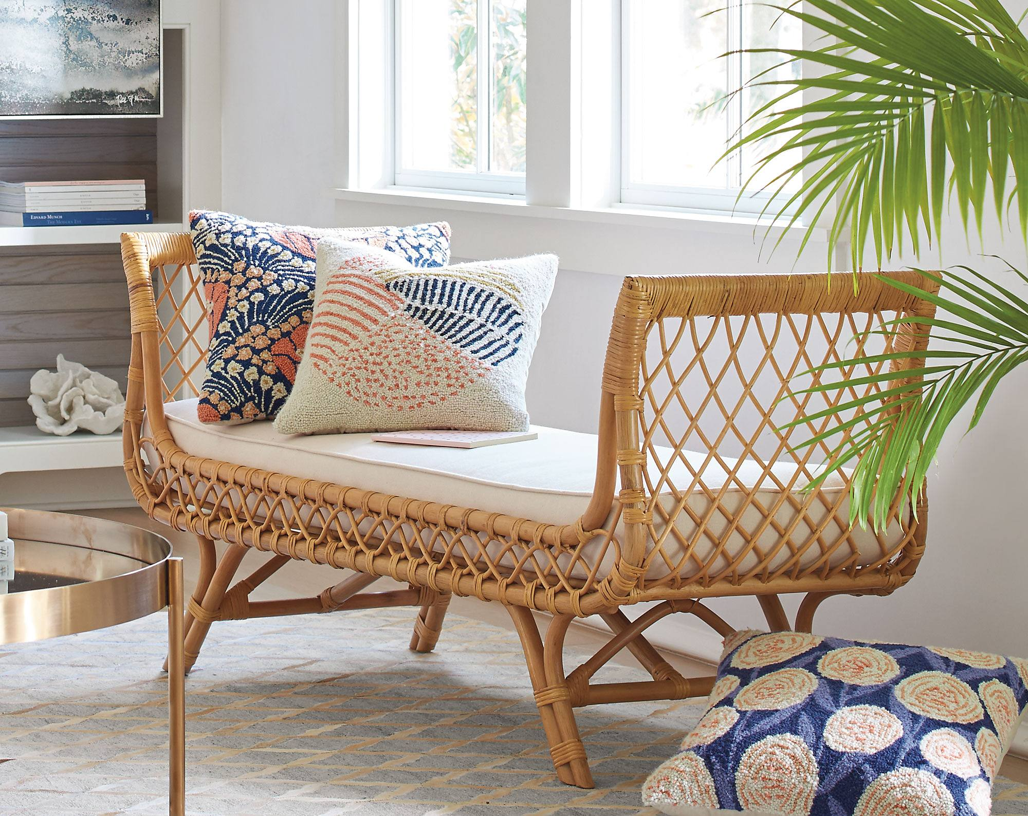 Grandin Road offers indoor furniture covering this important range of  honest materials  bringing the best elements in to mix creatively in room  settings and  Indoor Rattan Furniture  A Natural Art Form   Grandin Road Blog. Indoor Rattan Furniture. Home Design Ideas