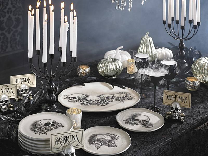 bewitching halloween party buffet fastmystery solved - Grandin Road Halloween