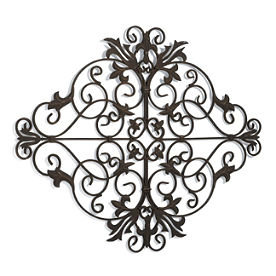 Grandin Road - Metal Wall Hangings - Metal Flowers - Metal Sculptures