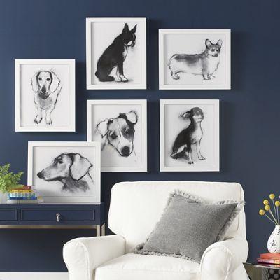Study Of Dog Wall Art Grandin Road