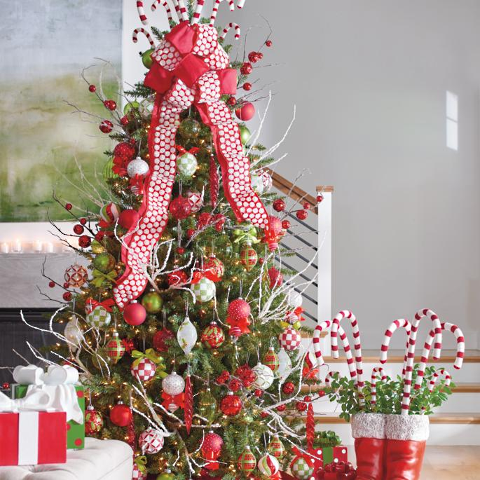 Shop Decorations For Christmas: Holly Jolly Designer Christmas Tree