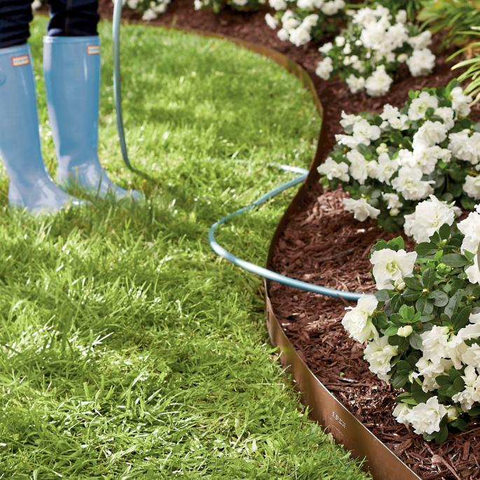 Everedge lawn edging grandin road for Garden edging