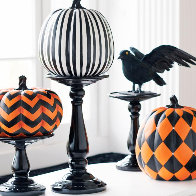 Designer Pumpkins - Grandin Road