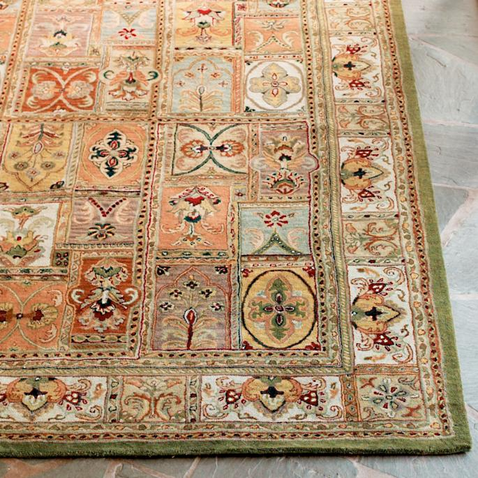 Wentworth Hand tufted Wool Rug Grandin Road