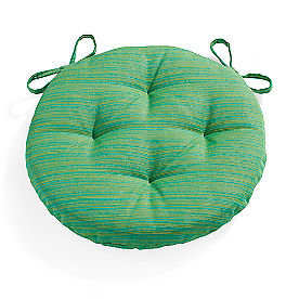 Sunbrella Round Tufted Seat Cushion