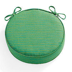 Sunbrella Round Double Piped Seat Cushion