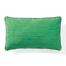 Sunbrella Piped Lumbar Pillow