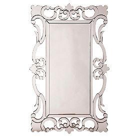 Rebecca Scroll Mirror