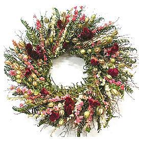 Celosia & Fern Wreath