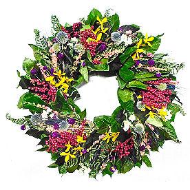Wildflower Meadow Wreath
