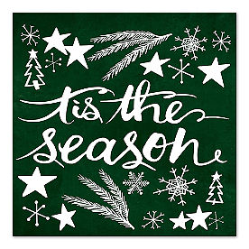 Tis the Season Canvas Wall Art
