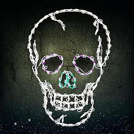Pre-Lit LED Skull