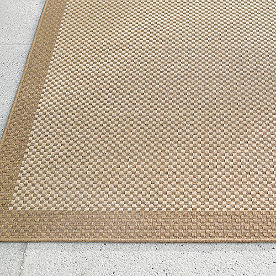 Quinn Basket Weave Outdoor Rug
