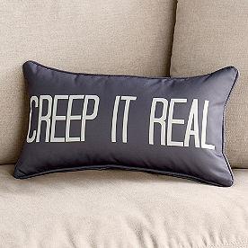 Creep it Real Lumbar Pillow