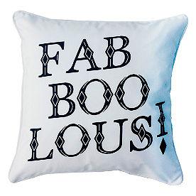 Fab Boo Lous Pillow