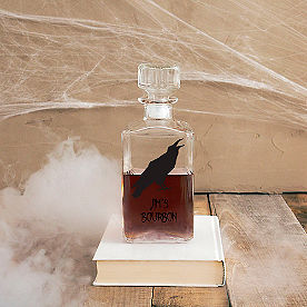 Personalized Raven Decanter