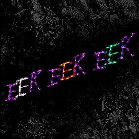 Pre-Lit LED EEK