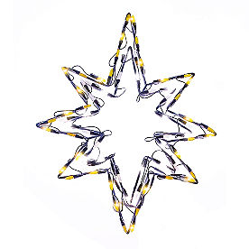 Pre-lit LED Star