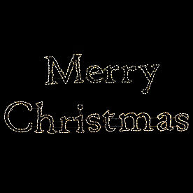 Pre-lit LED Giant Merry Christmas Sign with Stakes