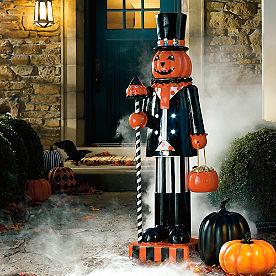 Pumpkin Man Figure