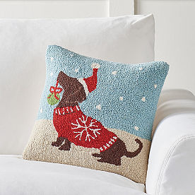 Christmas Companions Pillows, Cooper
