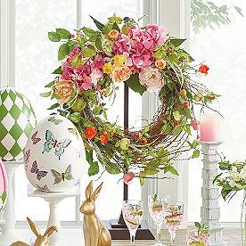 Spring Blossom Wreath