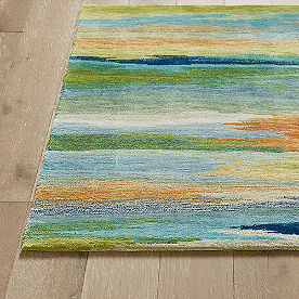 Watercolor Area Rug