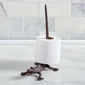 Alligator Paper Holder