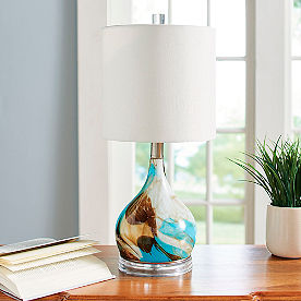 Desert Dreamer Glass Lamp