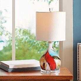 Ocean Dreamer Glass Lamp