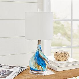 Sky Dreamer Glass Lamp