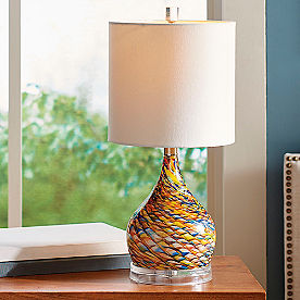 Sun Dreamer Glass Lamp