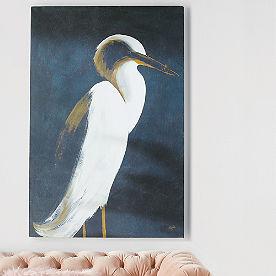 White Heron I Artwork