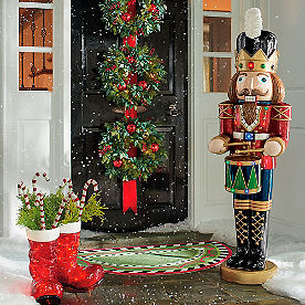 5-ft. Musical Nutcracker