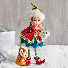 Penny Elf Fa La La Figure