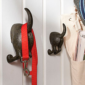 Dog Tail Hooks, Set of Two