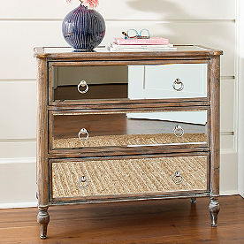 Marcella Mirrored Chest
