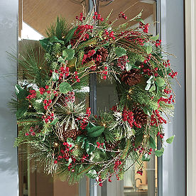 Savannah Cordless Wreath