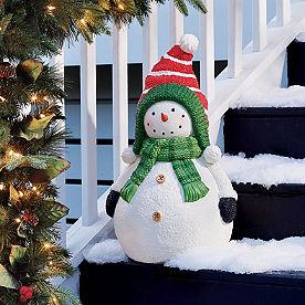 Sam Snowman Figure